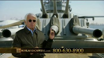 Rosland Capital TV Spot, 'Safer With Gold: Mercury Dime' Ft. William Devane - Thumbnail 7