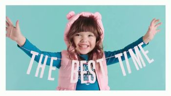 Gymboree VISA Card TV Spot, 'The Best Time to Be a Kid: 50 Percent Off' - 58 commercial airings