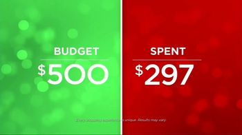 JCPenney Holiday Challenge TV Spot, 'Your Budget' Song by Sia - Thumbnail 6