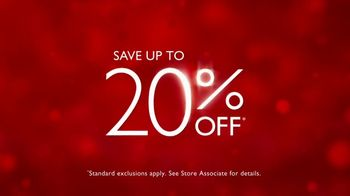 Fred Meyer Jewelers Buy More Save More Sale TV Spot, 'Create Holiday Joy' - Thumbnail 9