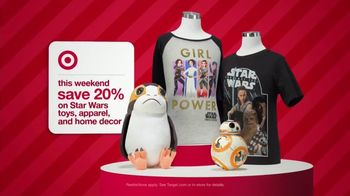 Target TV Spot, 'Holidays: Weekend Deals on Star Wars' - 1171 commercial airings