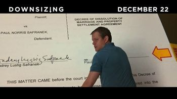 Downsizing - Alternate Trailer 12