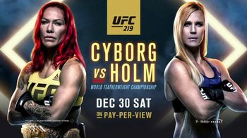 UFC 219 TV Spot, 'Cyborg vs. Holm: Born for Greatness' Song by Papa Roach