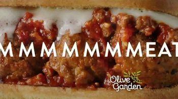 Olive Garden Breadstick Sandwiches TV Spot, 'Mmmeatballs' - Thumbnail 4