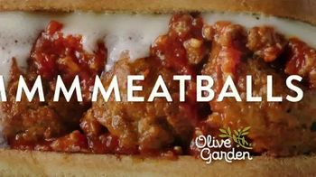 Olive Garden Breadstick Sandwiches TV Spot, 'Mmmeatballs' - Thumbnail 5
