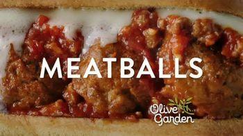 Olive Garden Breadstick Sandwiches TV Spot, 'Mmmeatballs' - Thumbnail 6