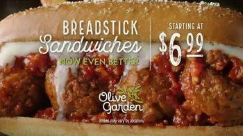 Olive Garden Breadstick Sandwiches TV Spot, 'Mmmeatballs' - Thumbnail 9