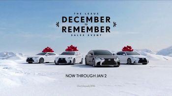 Lexus December to Remember Sales Event TV Spot, 'Dancer' [T2] - Thumbnail 6