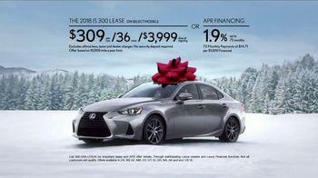 Lexus December to Remember Sales Event TV Spot, 'Dancer' [T2] - Thumbnail 7