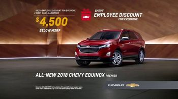 Chevy Employee Discount for Everyone TV Spot, 'Add It Up' [T2] - Thumbnail 8
