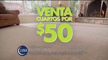 Luna Flooring Venta de Cuartos por $50 TV Spot, 'Cada cuarto' [Spanish] - Thumbnail 1