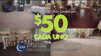 Luna Flooring Venta de Cuartos por $50 TV Spot, 'Cada cuarto' [Spanish] - Thumbnail 3
