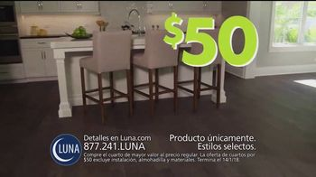 Luna Flooring Venta de Cuartos por $50 TV Spot, 'Cada cuarto' [Spanish] - Thumbnail 4