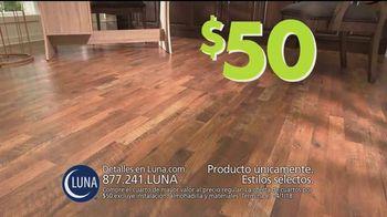 Luna Flooring Venta de Cuartos por $50 TV Spot, 'Cada cuarto' [Spanish] - Thumbnail 5