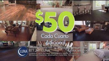 Luna Flooring Venta de Cuartos por $50 TV Spot, 'Cada cuarto' [Spanish] - Thumbnail 6