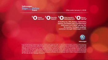 2017 Volkswagen Sign Then Drive Event TV Spot, 'Holi-Dang' [T2] - Thumbnail 8
