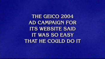GEICO Car Insurance TV Spot, 'Jeopardy!: Caveman' - 3 commercial airings