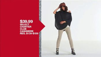 Macy's One Day Sale TV Spot, 'Deals of the Day: Cashmere and Jewelry' - Thumbnail 4