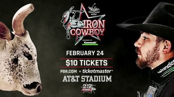 Professional Bull Riders TV Spot, '2018 Iron Cowboy: AT&T Stadium' - 1 commercial airings