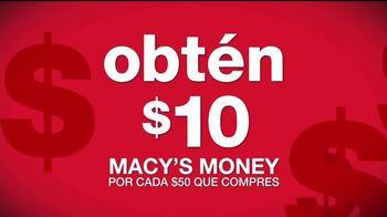 Macy's TV Spot, 'Macy's Money: las mejores marcas' [Spanish] - Thumbnail 3