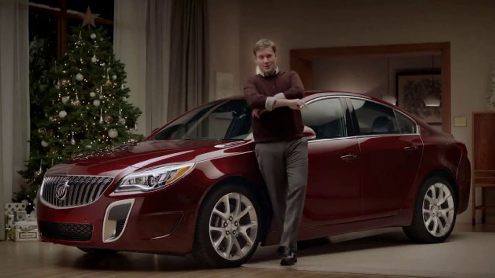 buick tv commercial, 'shopping list: something for everyone on your