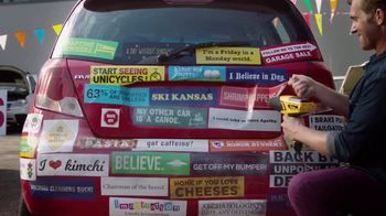 Wagner Furno Heat Gun TV Spot, 'Removing Bumper Stickers'