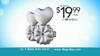 MagicBax Earring Lifters TV Spot, 'Secure Earrings' - Thumbnail 7