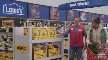 Lowe's TV Spot, 'Gift-Giver: Dewalt Drill' - Thumbnail 8