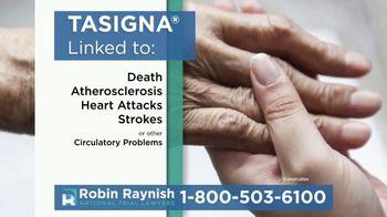 Robin Raynish Law TV Spot, 'TASIGNA Linked to Circulatory Problems' - Thumbnail 3