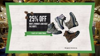 Cabela's Christmas Sale TV Spot, 'Celebrate the Seasons: Smokers and Boots' - Thumbnail 7