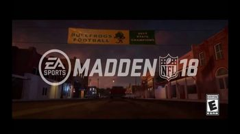 Madden NFL 18 TV Spot, 'Longshot Mode: Accolades' - Thumbnail 2