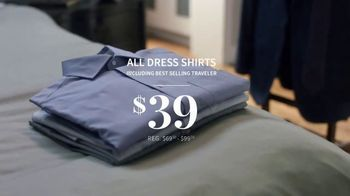 JoS. A. Bank Weekend Warm-Up Sale TV Spot, 'Dress Shirts and Sportcoats' - Thumbnail 4