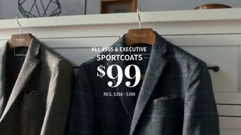 JoS. A. Bank Weekend Warm-Up Sale TV Spot, 'Dress Shirts and Sportcoats' - Thumbnail 5