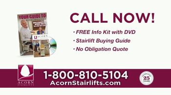 Acorn Stairlifts TV Spot, 'Stay in the Home You Love' - Thumbnail 10