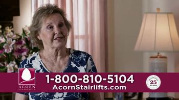 Acorn Stairlifts TV Spot, 'Stay in the Home You Love'