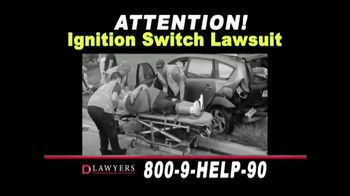 Langdon & Emison Attorneys at Law TV Spot, 'Ignition Switch Lawsuit' - Thumbnail 1