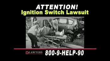 Langdon & Emison Attorneys at Law TV Spot, 'Ignition Switch Lawsuit' - Thumbnail 2