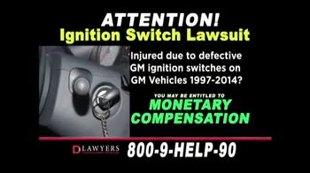 Langdon & Emison Attorneys at Law TV Spot, 'Ignition Switch Lawsuit' - Thumbnail 3