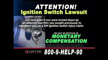 Langdon & Emison Attorneys at Law TV Spot, 'Ignition Switch Lawsuit' - Thumbnail 4