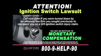 Langdon & Emison Attorneys at Law TV Spot, 'Ignition Switch Lawsuit' - Thumbnail 5