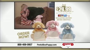 Peek-A-Boo Puppy TV Spot, 'Kids Love Peek-A-Boo' - Thumbnail 9