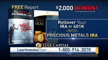 Lear Capital Precious Metals IRA TV Spot, 'Debt Bubbles' Ft. Patricia Stark - Thumbnail 8