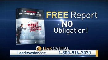 Lear Capital Precious Metals IRA TV Spot, 'Debt Bubbles' Ft. Patricia Stark - Thumbnail 7