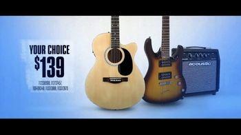 Guitar Center TV Spot, 'Fender and Mitchell Guitars'
