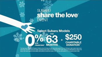 Subaru Share the Love Event TV Spot, 'Helping Real People' [T1] - Thumbnail 10