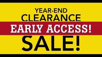 Lumber Liquidators Year-End Flooring Clearance Sale TV Spot, 'Early Access'