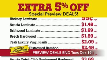 Lumber Liquidators Year-End Flooring Clearance Sale TV Spot, 'Early Access' - Thumbnail 2