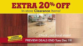 Lumber Liquidators Year-End Flooring Clearance Sale TV Spot, 'Early Access' - Thumbnail 3