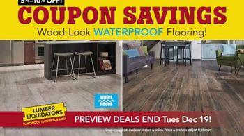Lumber Liquidators Year-End Flooring Clearance Sale TV Spot, 'Early Access' - Thumbnail 4