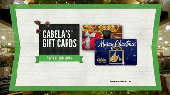 Cabela's Christmas Sale TV Spot, 'Celebrate the Seasons: Gift Cards' - Thumbnail 7